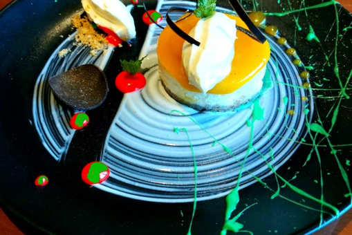 Thandai Infused Cheese Cake