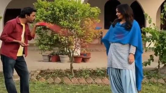 Nawazuddin Siddiqui and Neha Sharma encourage playing Holi with social distancing