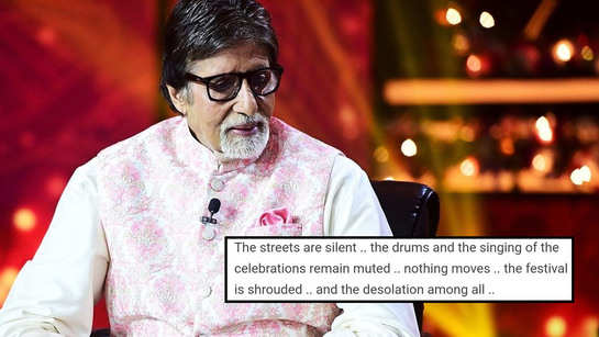 Amitabh Bachchan writes an emotional blog on how he spent Holi sitting in silence!