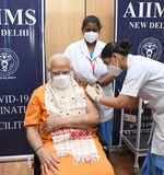 PM Modi takes 2nd dose of Covid vaccine