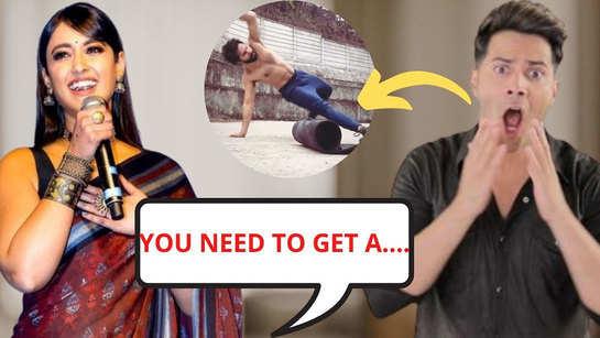 Ileana D'Cruz subtly trolls Varun Dhawan after 'Bhediya' actor shares his animal flow workout video