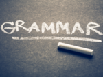 Touch up your basics on grammar