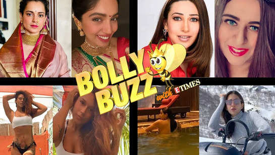 Bolly Buzz: Celebs extend warm Gudi Padwa wishes; meet Karisma Kapoor's look-alike and more