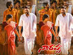 Venkatesh, Priyamani can be seen in traditional attires in the new poster of Narappa