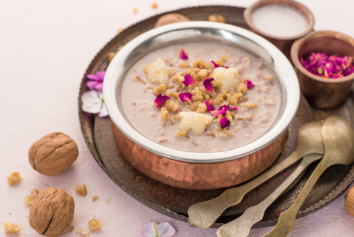 Vegan Walnut Banana Kheer