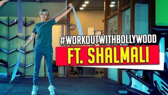 Exclusive! Shalmali offers a glimpse of her functional workout