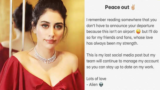 Warina Hussain quits social media, says, 'In Aamir sir's language dropping the pretense'