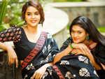 Chaitra Reddy and Nakshathra