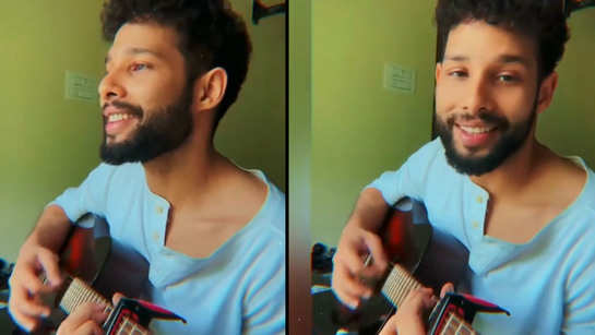 Watch: Siddhant Chaturvedi's beautiful song will leave you motivated during these tough times!
