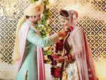 Sugandha Mishra and  Dr. Sanket Bhosale tie the knot