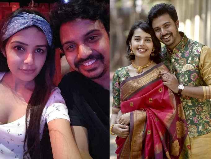 OMG Shocking Photos of Marathi TV Actor Virajas Kulkarni with girlfriend Shivani Rangole