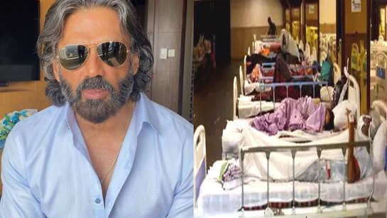 'Politicians have made us run for hospital beds and oxygen': Suniel Shetty on system's inefficiency in handling second wave of COVID-19