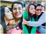 Mother's Day: Adorable pictures of Bhojpuri celebs with their moms