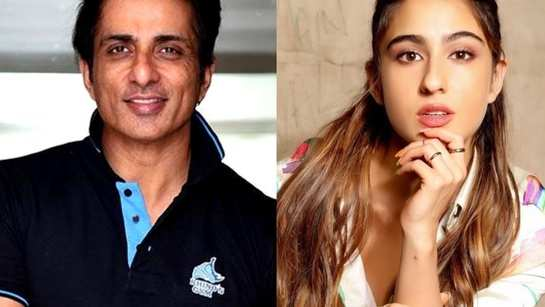 Sonu Sood thanks Sara Ali Khan for contributing to his charity foundation for COVID-19 relief, calls her a 'hero'