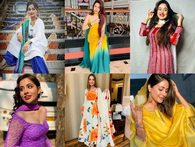 Very Special Dressess for TV Stars 2021 Eid outfits