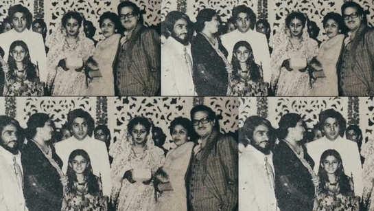When Raveena Tandon attended Rishi Kapoor and Neetu Singh's wedding