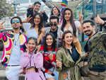 Sana Makbul celebrates Eid with KKK11 gang
