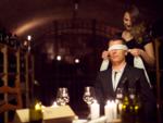 Have blindfolded sex outside the bedroom