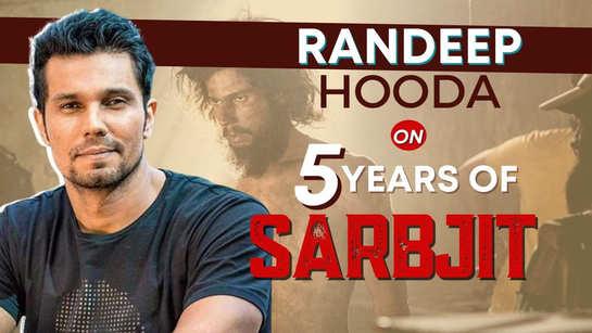 5 years of 'Sarbjit': Randeep Hooda gets emotional as he shares shocking weight loss journey