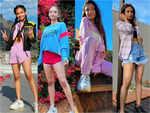 Anushka Sen's cool style