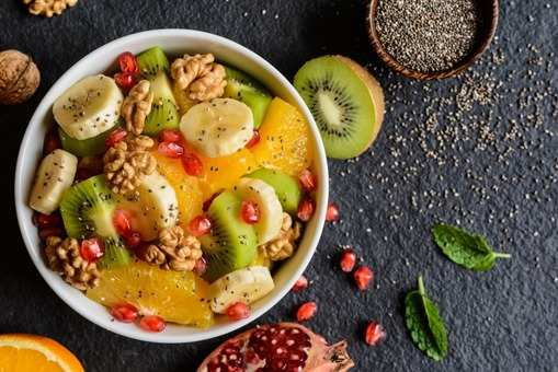 Fruit and Nut Chia Salad