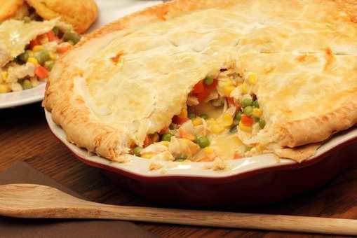 Veg Pot Pie