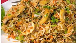 Watch: How to make Ginger Mushroom Fried Rice
