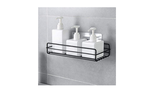 Adhesive shelf for body and hair products