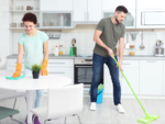 Housework will never be even