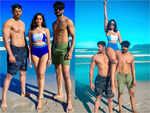 On Varun's beach pics with Nikki, Sana and Vishal