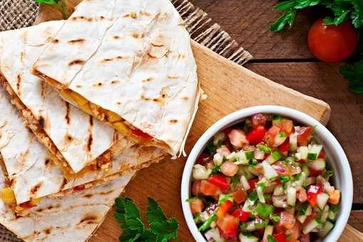 Cheesy Tortilla Wrap