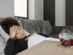 Why do I feel achy and feverish after pregnancy?