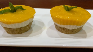 Watch: How to make Mango Cheesecake