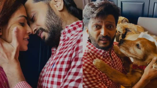 This latest video of Riteish Deshmukh with wife Genelia Deshmukh will leave you in splits!