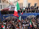 Italy celebrates Euro win with parade