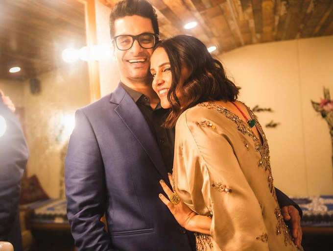 Neha Dhupia and Angad Bedi's romantic love story | The Times of India
