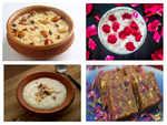 Fusion dessert recipes for Bakrid lunch