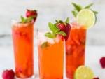 Replace soft drinks with healthful teas or drinks