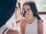 What should parents do if their kids want to start applying makeup