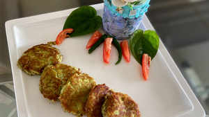 Watch: How to make Chickpea Kebabs