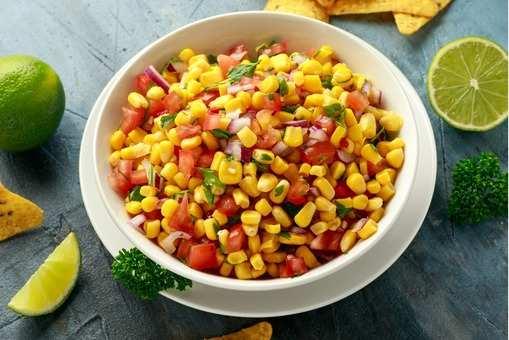 Sweet Corn Chaat