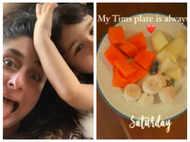 Kareena Kapoor Khan shares picture of Taimur's healthy plate