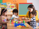 How is play associated with learning?