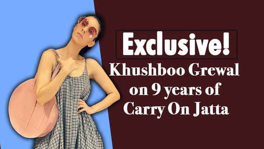 Exclusive! Khushboo Grewal on 9 years of Carry On Jatta