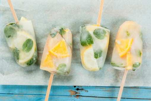 Gin Popsicle