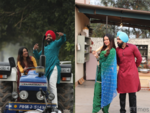 5 Exclusive pictures of Ammy Virk and Sonam Bajwa from 'Paunda Boliyaan', 'Puaada'