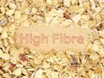 High in fibre