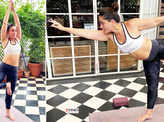 These pictures prove Kareena Kapoor Khan is no less than a yoga queen