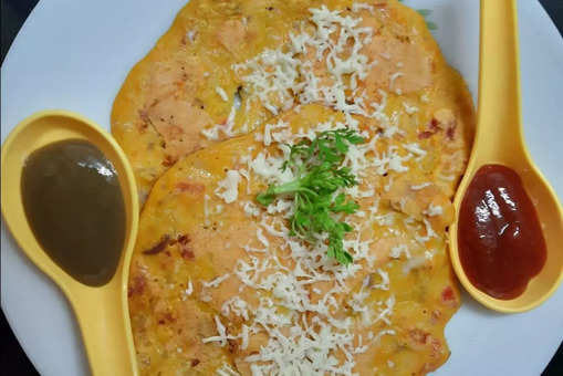 Besan Cheese Cheela