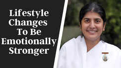 Lifestyle changes to be emotionally stronger